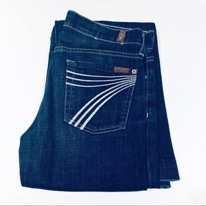 """7 For All Mankind Dojo Flare Jeans. 28x34"""""""